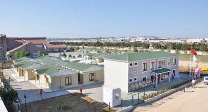 Edificio per la riabilitazione sanitaria di Karmod Prefabbricato