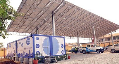 Il contenitore di nuova generazione di Karmod viene utilizzato per lo stoccaggio di energia solare in Nigeria