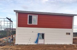 Karmod ha completato un progetto di una casa d'acciaio a Panama
