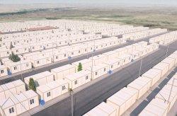 Progetto di alloggiamento container per i rifugiati siriani